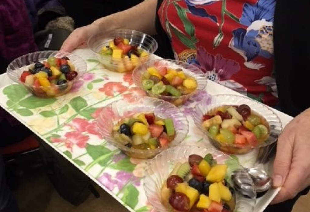 January party fruit salad