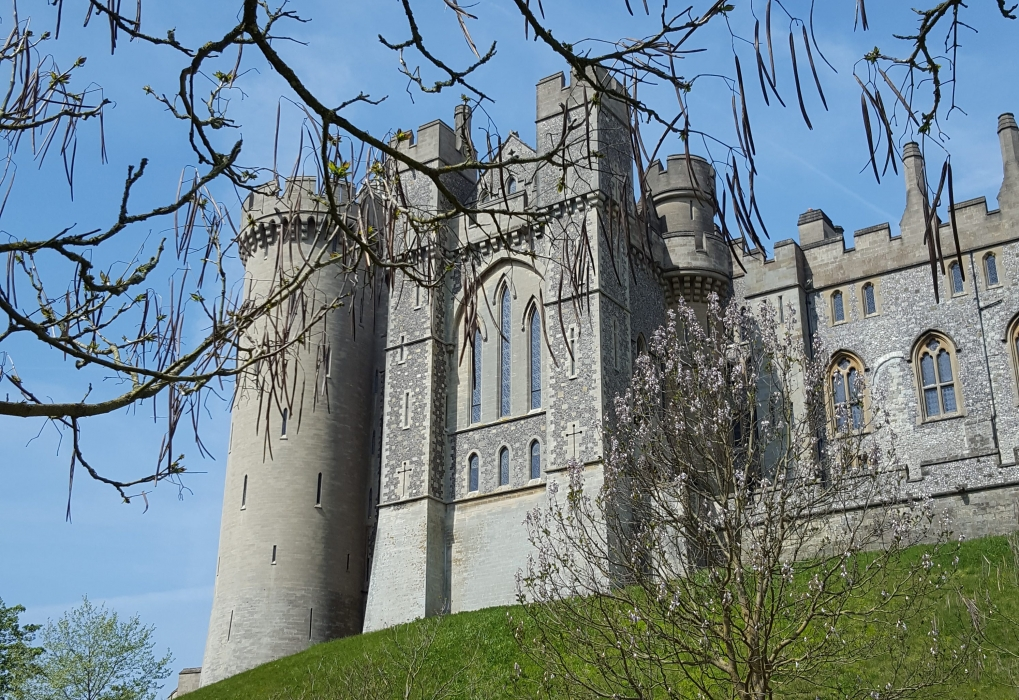 Trip to Arundel 2019, castle view