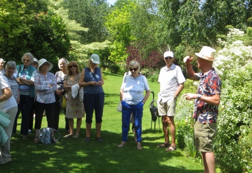 Andy McIndoe garden June 2019