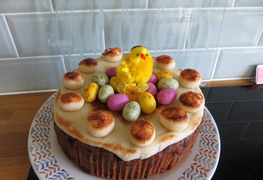 Marion K 'Keeping the hubby happy with a Simnel Cake for Easter'